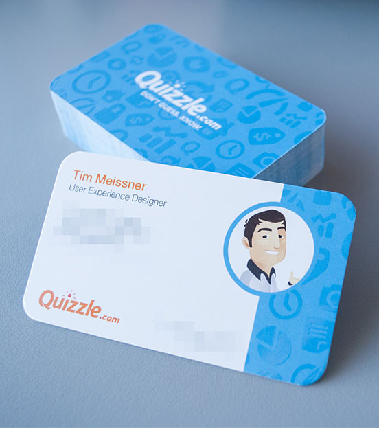 Quizzle Business Cards
