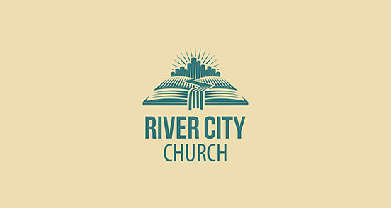 River City Church Logo Design The Design Inspiration