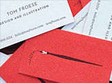 Tom Froese Business Cards