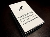 Greg Starling Business Cards