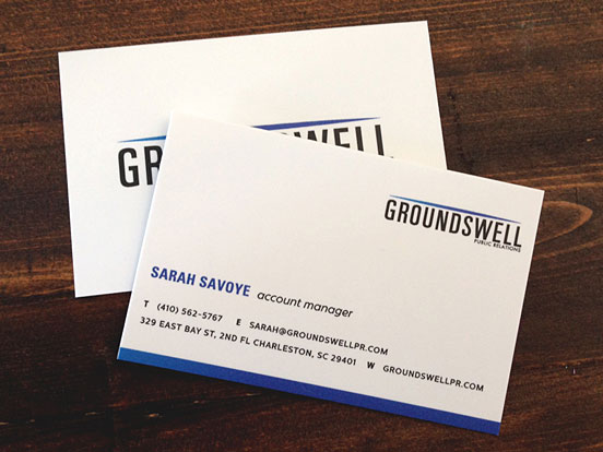 Groundswell Business Cards