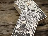 Innovative Letterpress Wooden Business Card