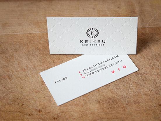 KEIKEU Business Cards
