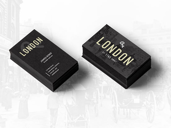 London Business Card