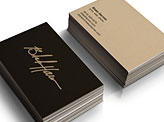 Personal Logo Business Cards