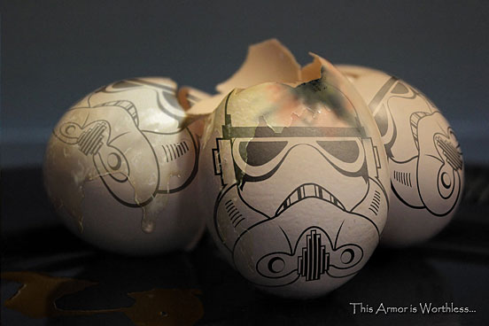 The Dark Side of the Yolk