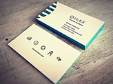 Ilex Letterpress Business Cards