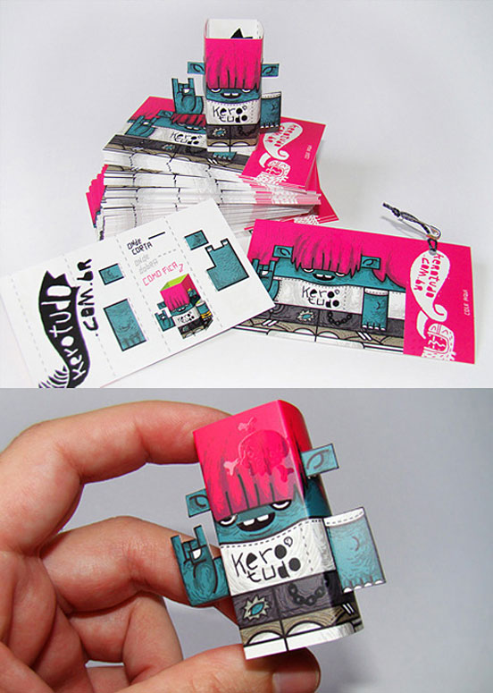 Cool Street Art Style Business Cards