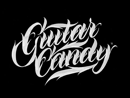 Guitarcandy Calligraphy