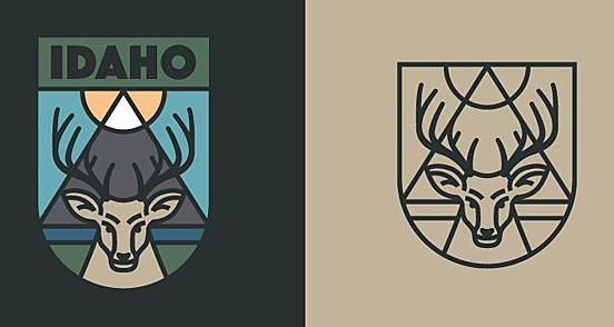 Idaho Badge
