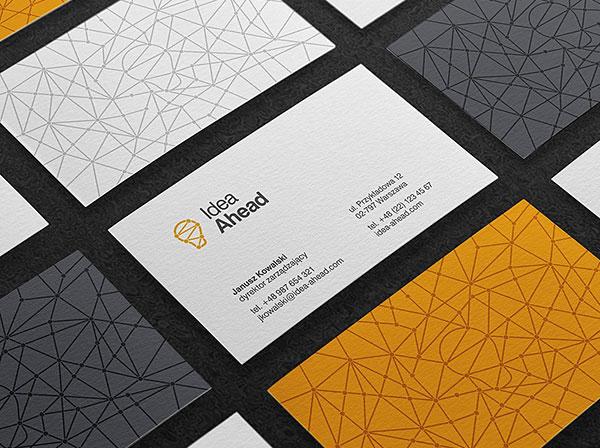 Idea Ahead Business Card