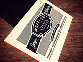 Wheelers Studio Metal Business Card