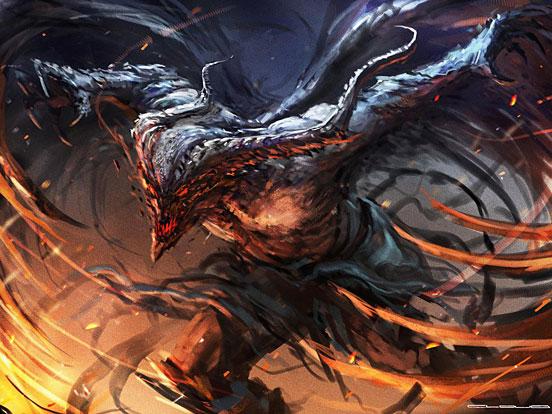 Winged Demon