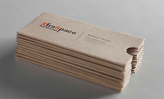 Xtra Space Business Cards