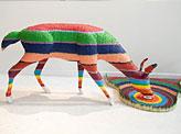 Colorful Crayon Sculptures
