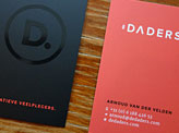 De Daders business cards