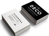 Deco Business Cards