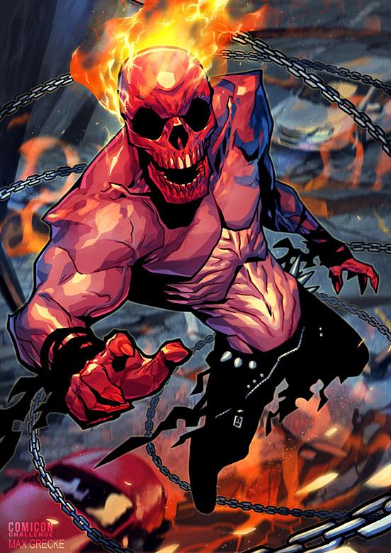 Ghost Rider Comicon Challenge