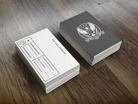 Idea Bureau Business Cards