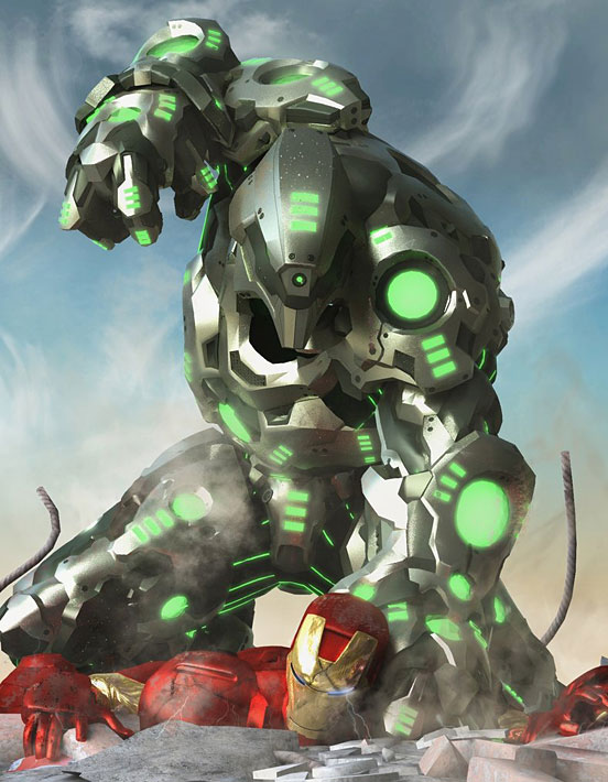 Iron Man VS Titanium Man