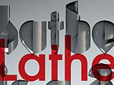 Lathe Typeface