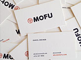 MOFU Business Cards