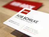 Rob Schilke Business Cards