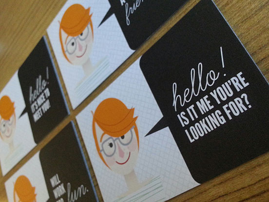 Y Kate Moore Business Cards
