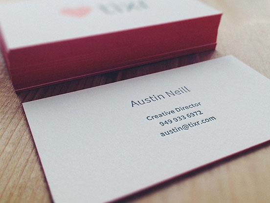 Austin Neill business cards