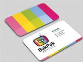 BakPak Artists Business Cards