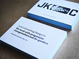 JKDC Business Cards