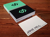 Jake Hill Business Cards