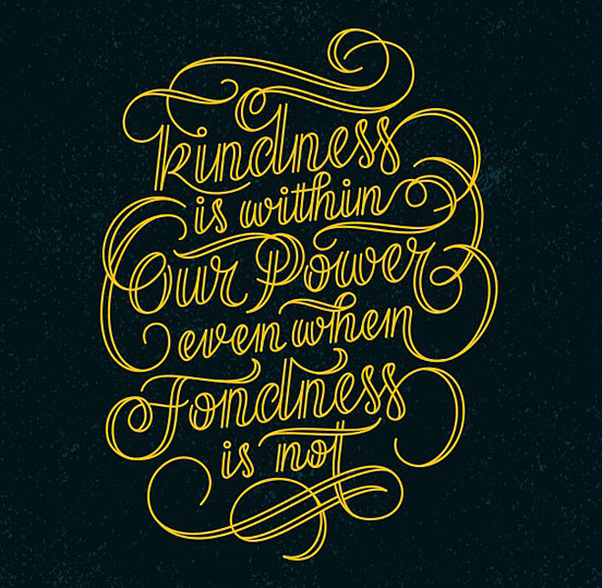 Kindness Vs Fondness