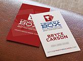Trophybox Business Cards