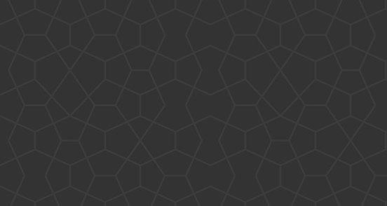 Congruent Pentagon Outline