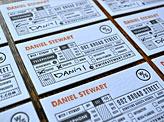 Danile Stewart Business Cards