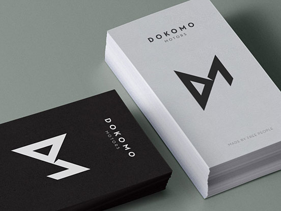 Dokomo Motors Business Cards