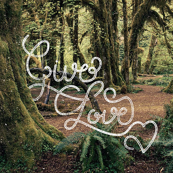 Give Love Hand Lettering