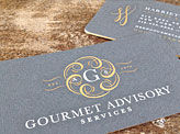 Gourmet Business Cards