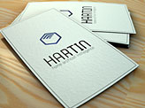 Hartin business card