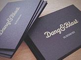 Dang & Blast Business Cards
