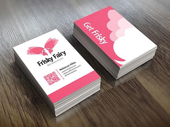 Frisky Fairy Business Card