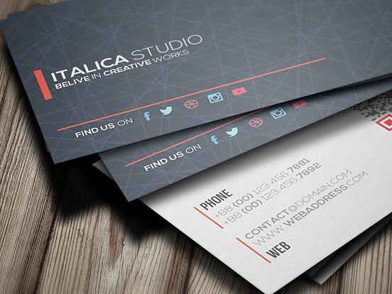 Italica Studio Business Card