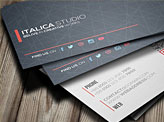 Italica Studio Business Card