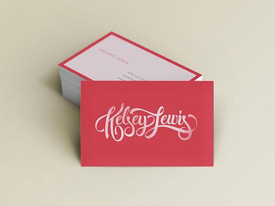 Kelsey Lewis Card