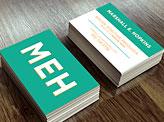 Marshall E. Hopkins Business Cards