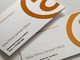 Setla Films Business Cards