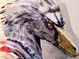 Velociraptor Color Sketch
