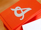 Bright Edge Painted Business Cards