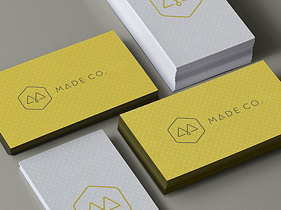 Made Co. Business Cards